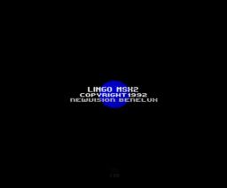 Lingo MSX2 (1992, MSX2, NewVision)