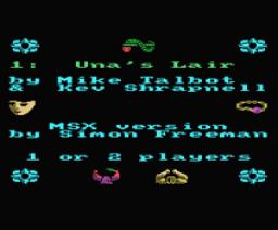 Storm (1986, MSX, Mastertronic)