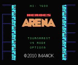 Heroes Arena (2010, MSX, MSX2, Imanok)