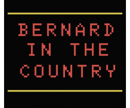 Bernardino in the country (1984, MSX, Indescomp)