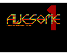 Awesome Compilation Disk #1 (1991, MSX2, Moonsoft)