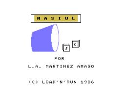 Nasiul (1986, MSX, L. A. Martinez Amago)
