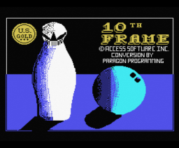 10th Frame (1987, MSX, Access Software)