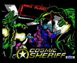 Cosmic Sheriff (1989, MSX, MSX2, Dinamic)