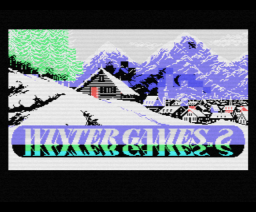 Winter Games (1986, MSX, Epyx, Ocean)
