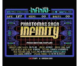 Phantomas Saga: Infinity (2006, MSX, Karoshi)