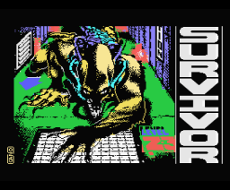 Survivor (1987, MSX, Topo Soft)