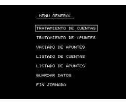 Contabilidad Personal (1984, MSX, Indescomp)