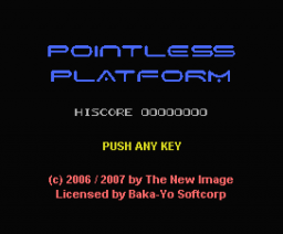 Pointless Platform (2006, MSX, TNI)