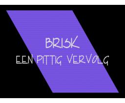 Brisk 2 (1994, MSX2, Triple Soft)