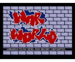 War World FM-PAC Demo (1990, MSX2, The Unicorn Corporation)