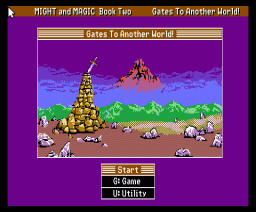 Might and Magic Book Two - Gates To Another World! (1989, MSX2, New World)