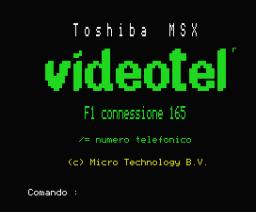 Videotel (MSX, Micro Technology)