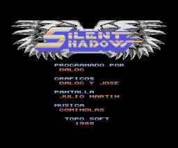 Silent Shadow (1988, MSX, Topo Soft)