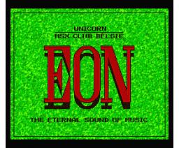 EON FM-PAC Demo (1992, MSX2, The Unicorn Corporation)
