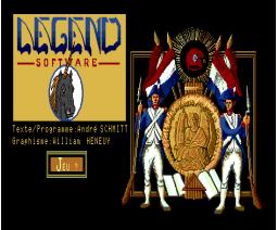 1789, La Révolution (1989, MSX2, Legend)