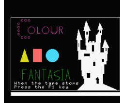 Colour Fantasia (1985, MSX, Kuma Computers)