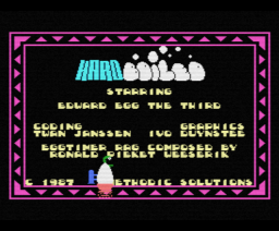 Hard Boiled (1987, MSX, Methodic Solutions)