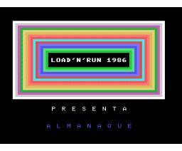 Almanaque (MSX, Infopress)