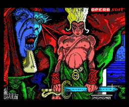 Sirwood (1990, MSX, Opera Soft)