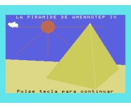 El Secreto de la Pirámide (1986, MSX, Manhattan Transfer)