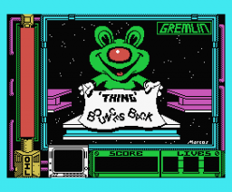Thing Bounces Back (1987, MSX, Gremlin Graphics)