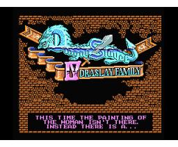 Dragon Slayer IV - Drasle Family (1987, MSX2, Falcom)
