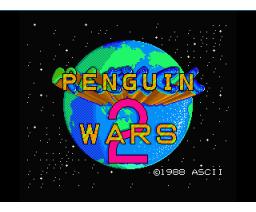 Penguin Kun Wars 2 (1988, MSX2, ASCII Corporation)