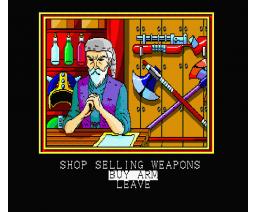 Shenan Dragon (1990, MSX2, Technopolis Soft)