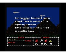 Malaya's Treasure (1989, MSX2, Pony Canyon)
